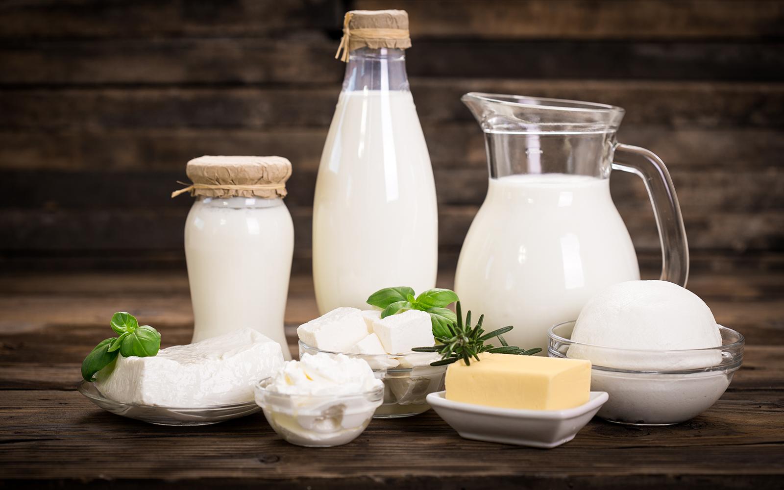 Молоко и молочные продукты фото