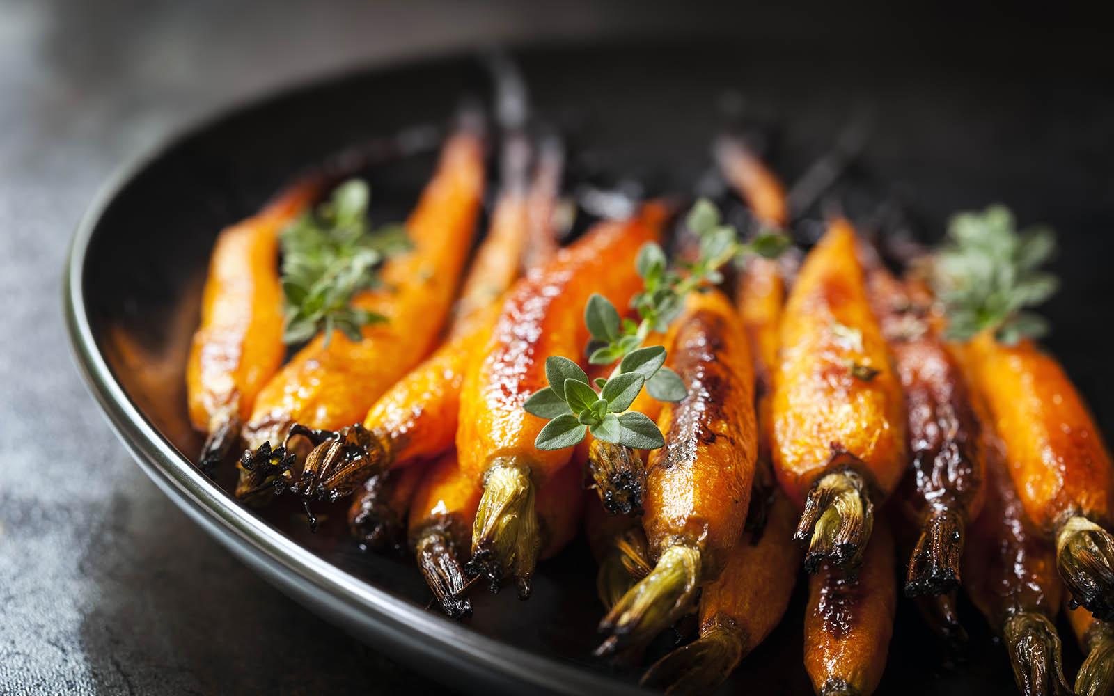 морковь с перцем и кофе