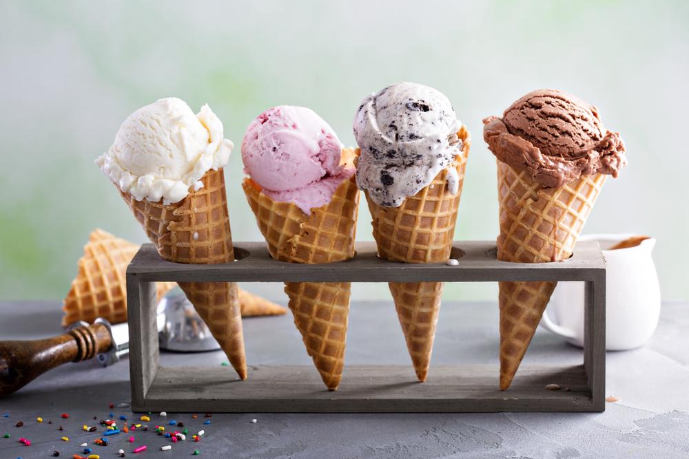 Детям — мороженое?