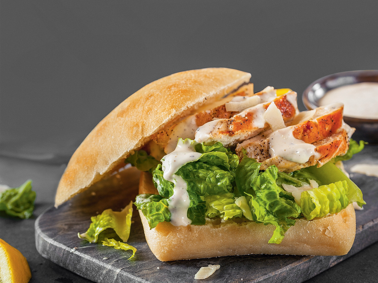Сэндвич-салат «Цезарь»