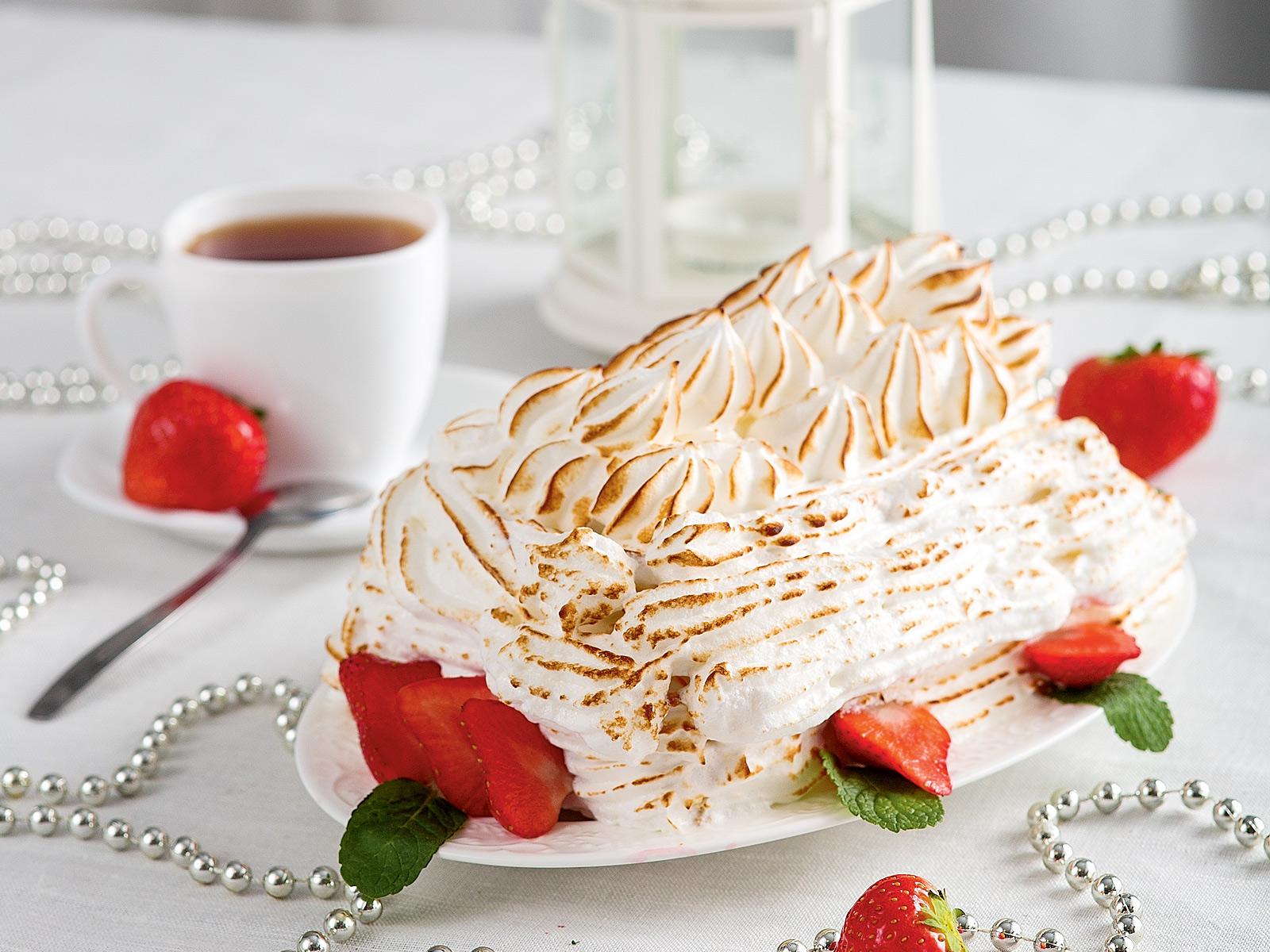 Десерт «Айсберг»