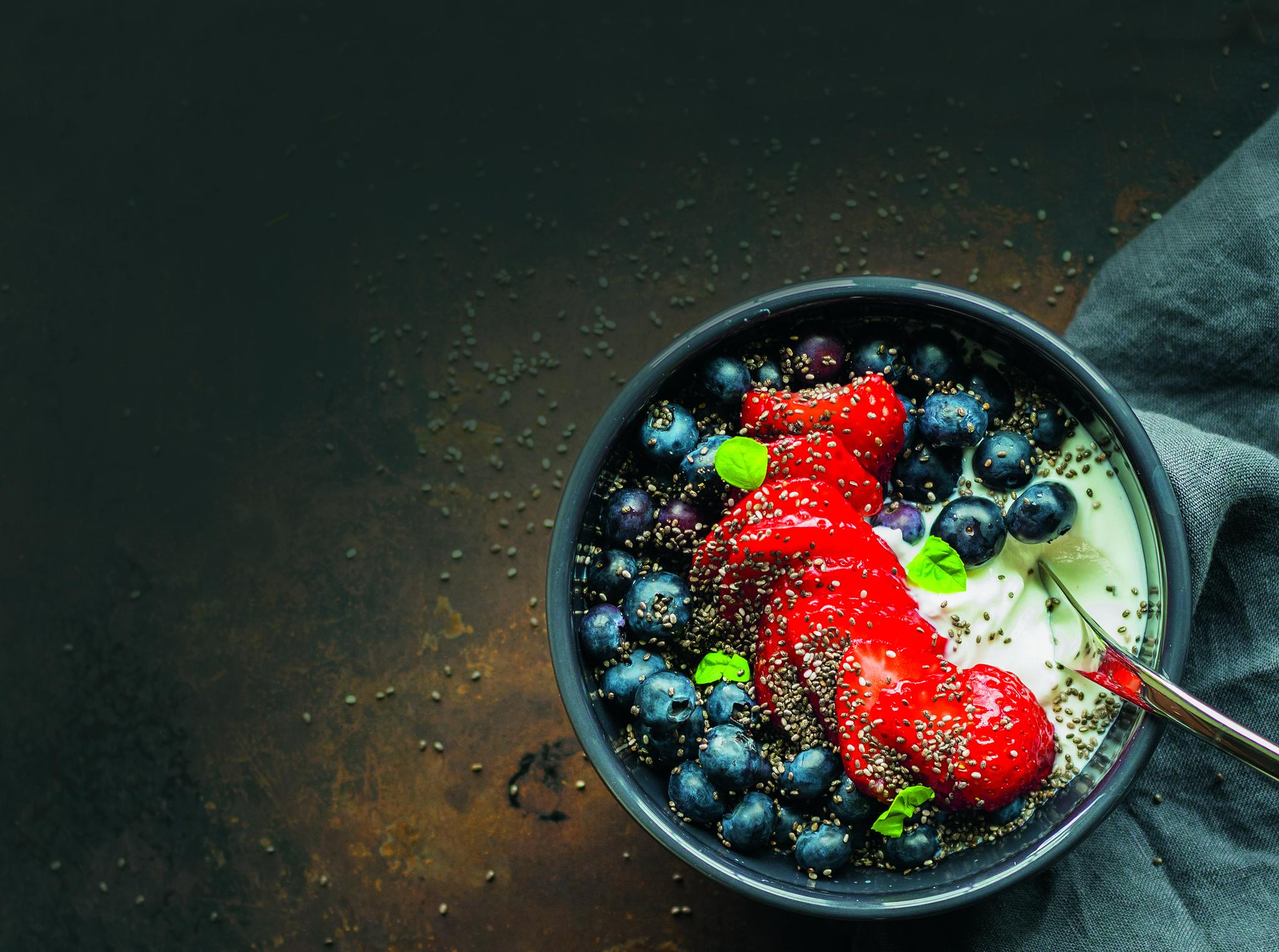 Конопляный йогурт-мусс