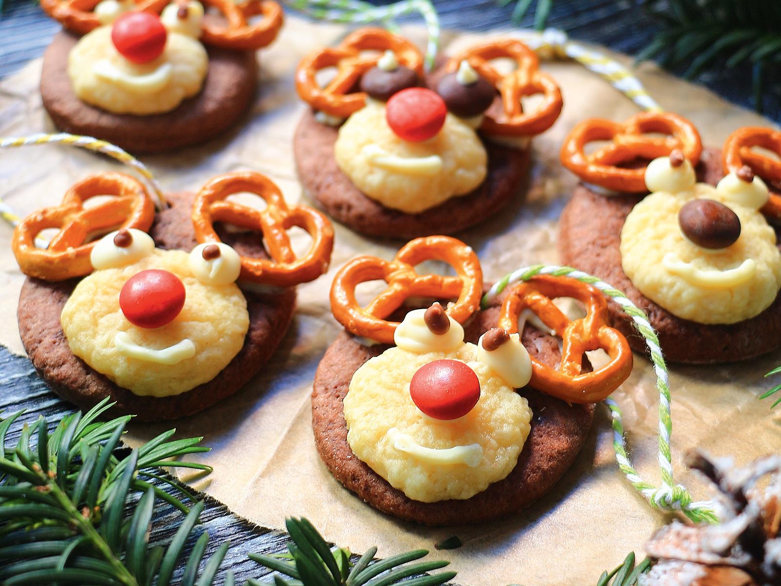 Печенье «Сказочные олени»