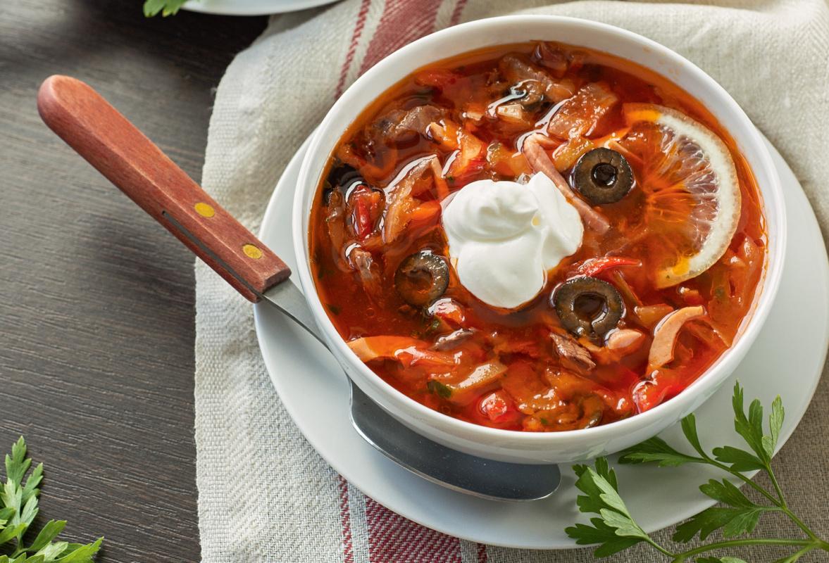 приготовление супа солянка сборная мясная с фото пример неценовой