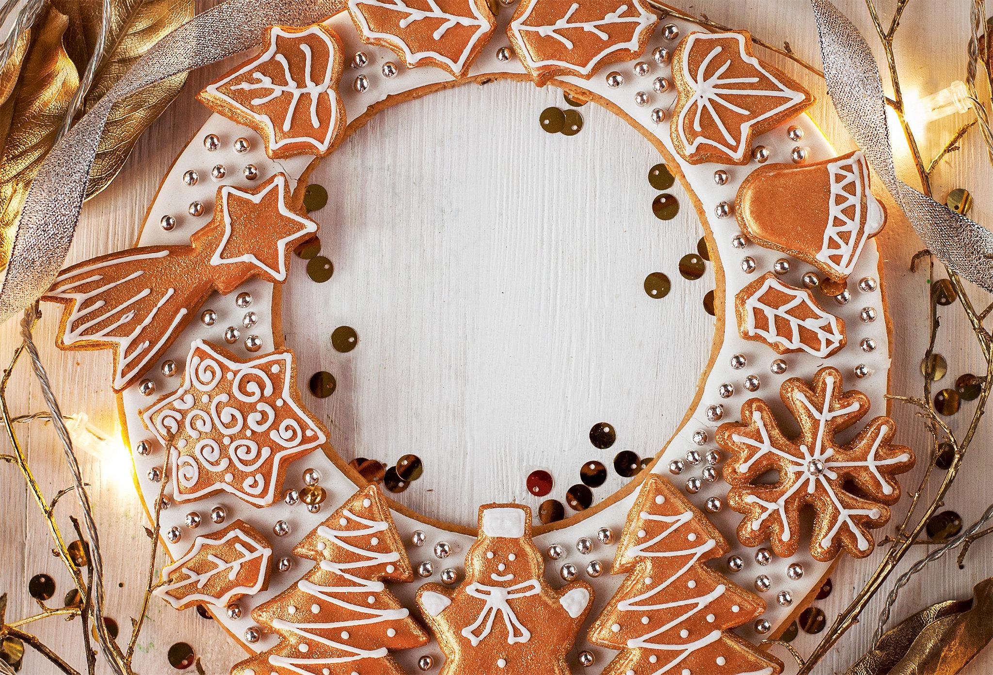 Основа для рождественских пряников