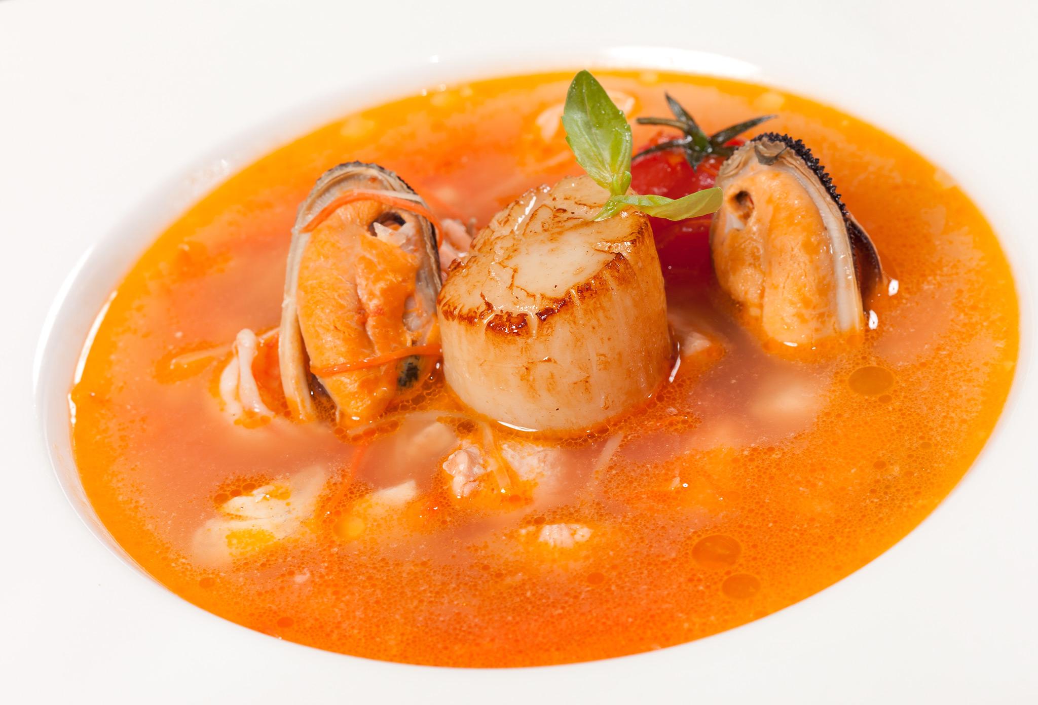 Суп из морепродуктов «Марке»