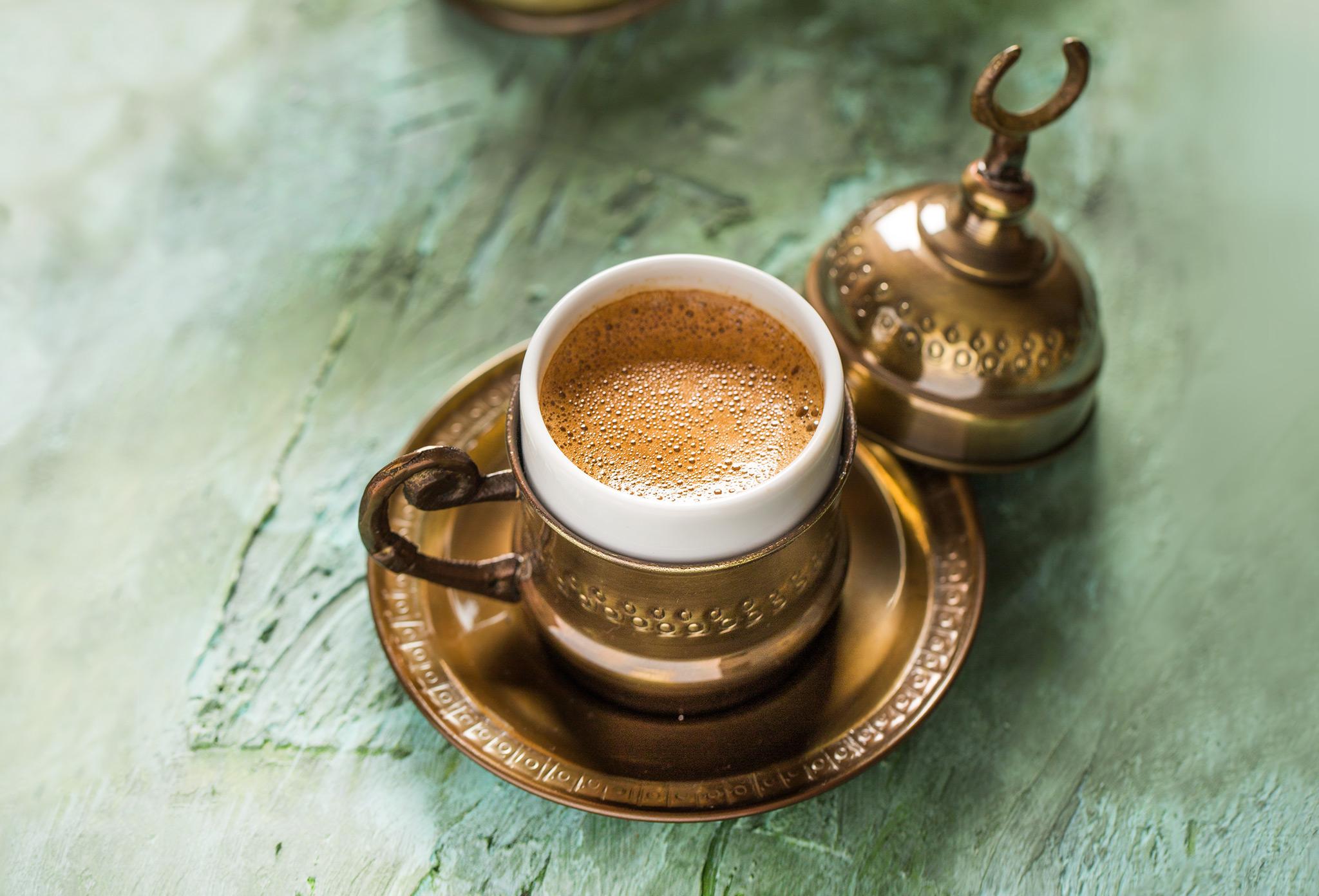 Кофе с кардамоном по-турецки