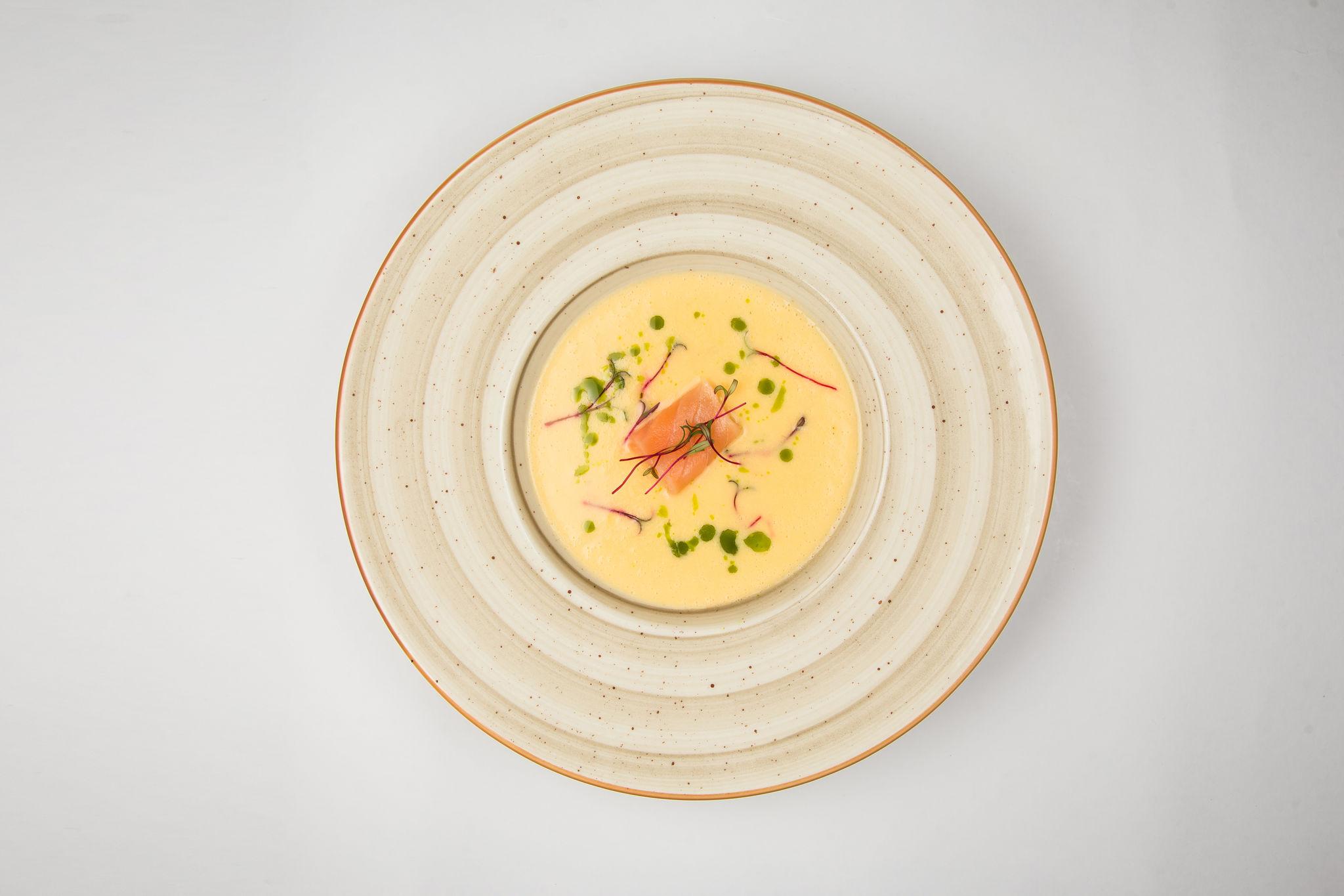 Суп-пюре из сёмги