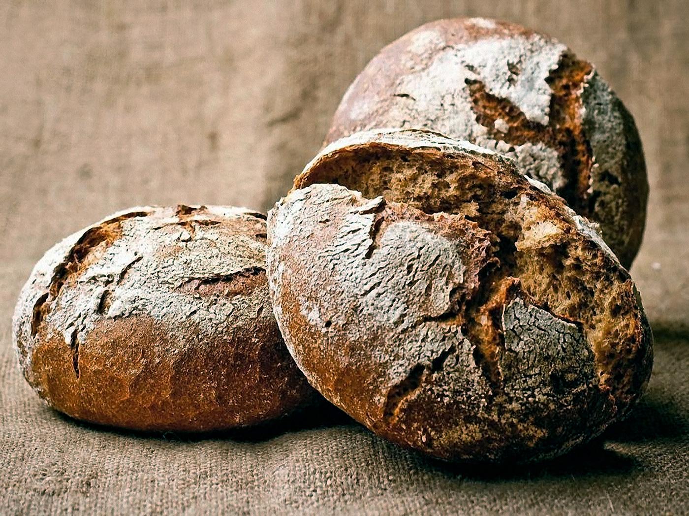 Хлеб бездрожжевой ржано-пшеничный