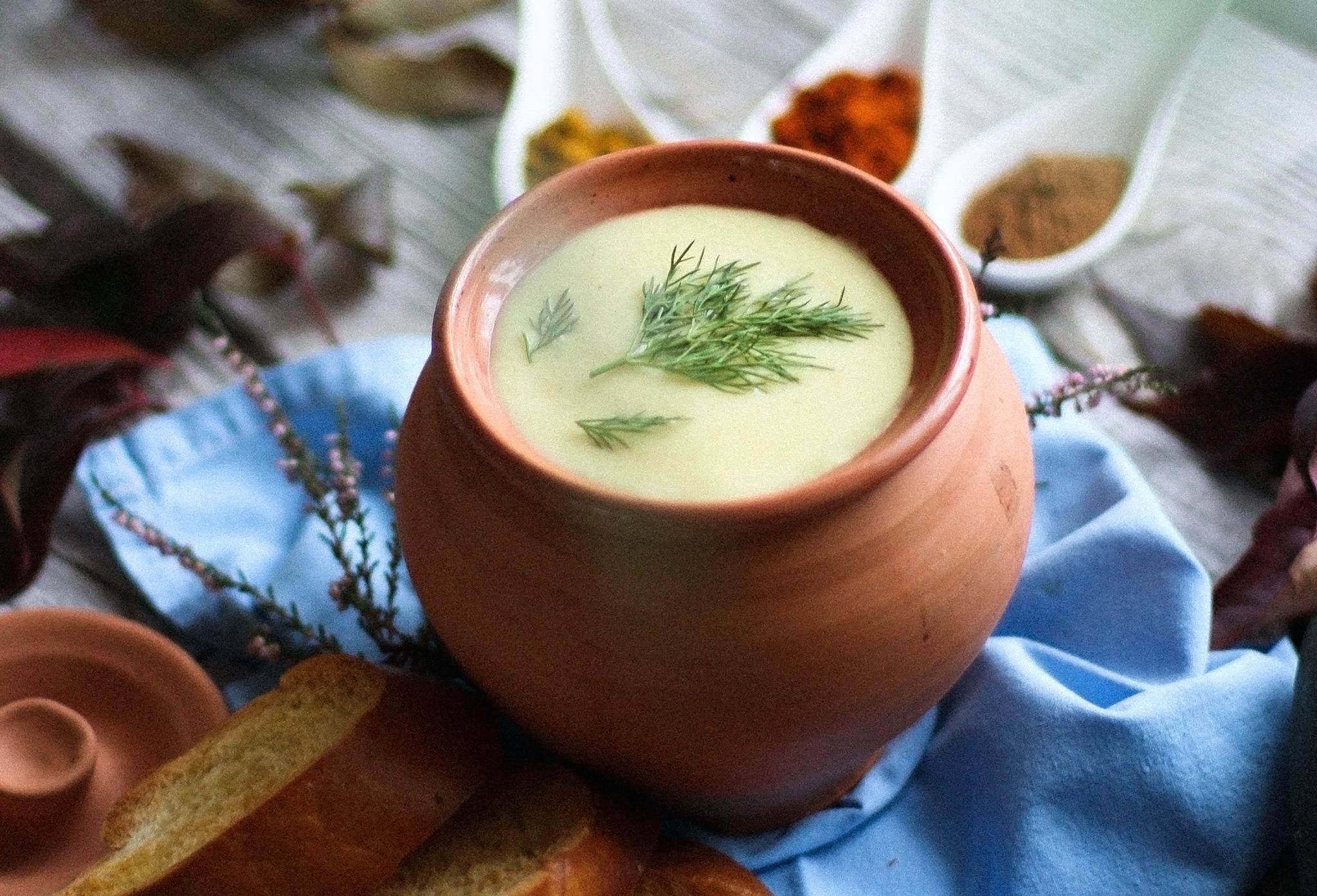 Кабачковый карри-крем-суп