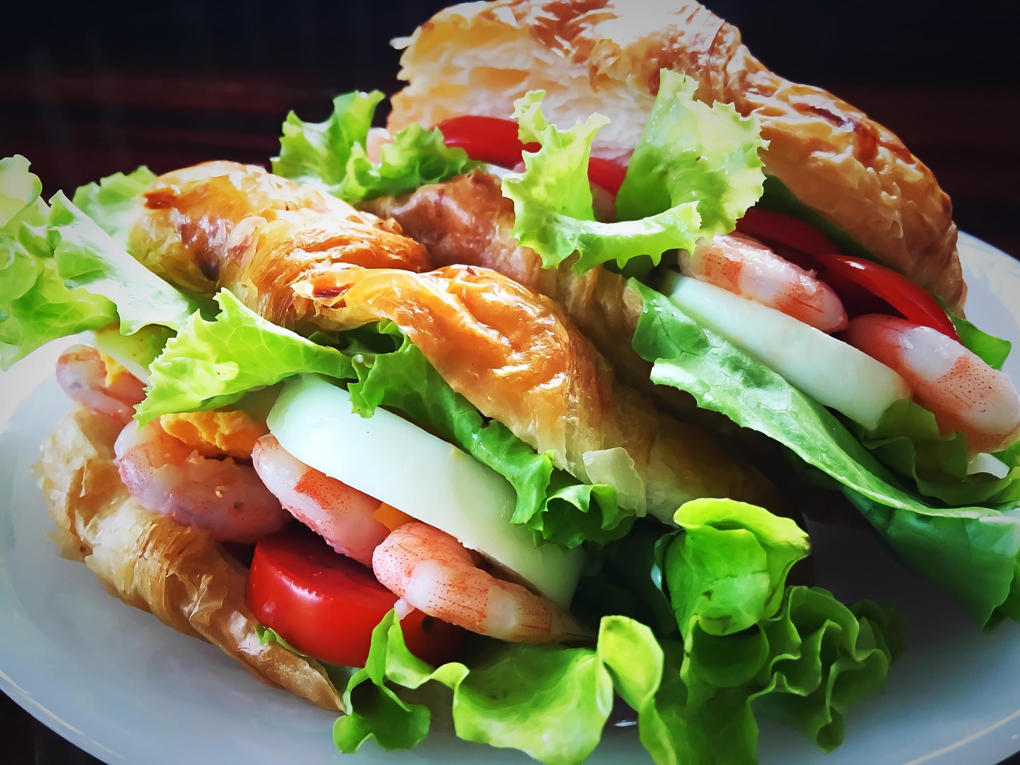 Сэндвич с морепродуктами «Князь Садко»