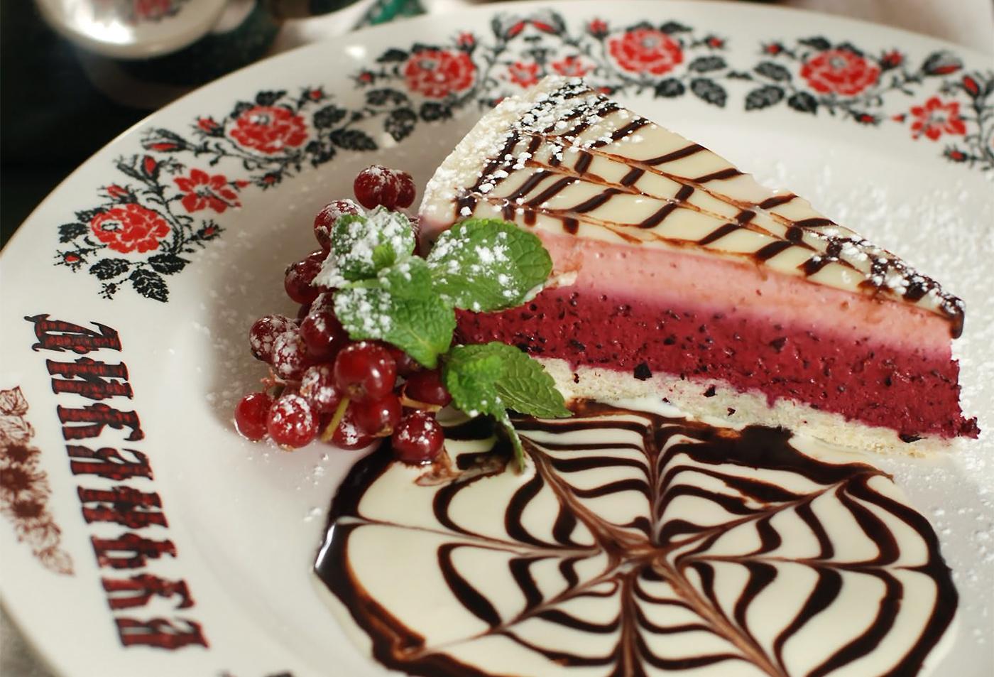 Десерт «Смуглянка»