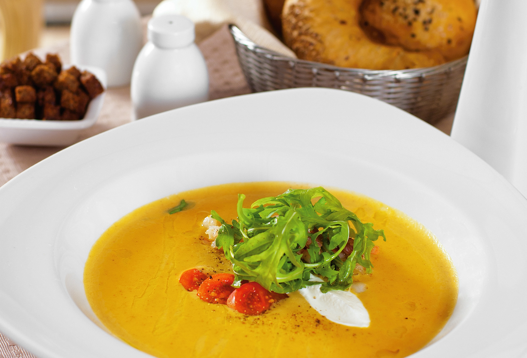 Крем-суп австрийский из фасоли