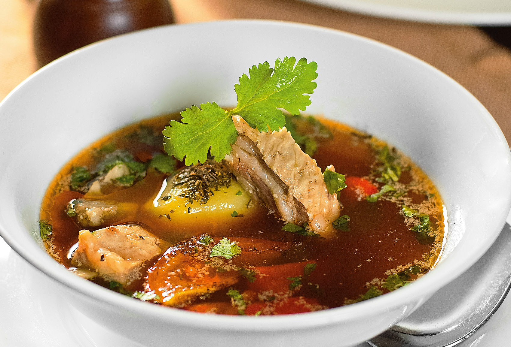 рецепты суп с мясом в картинках желтого