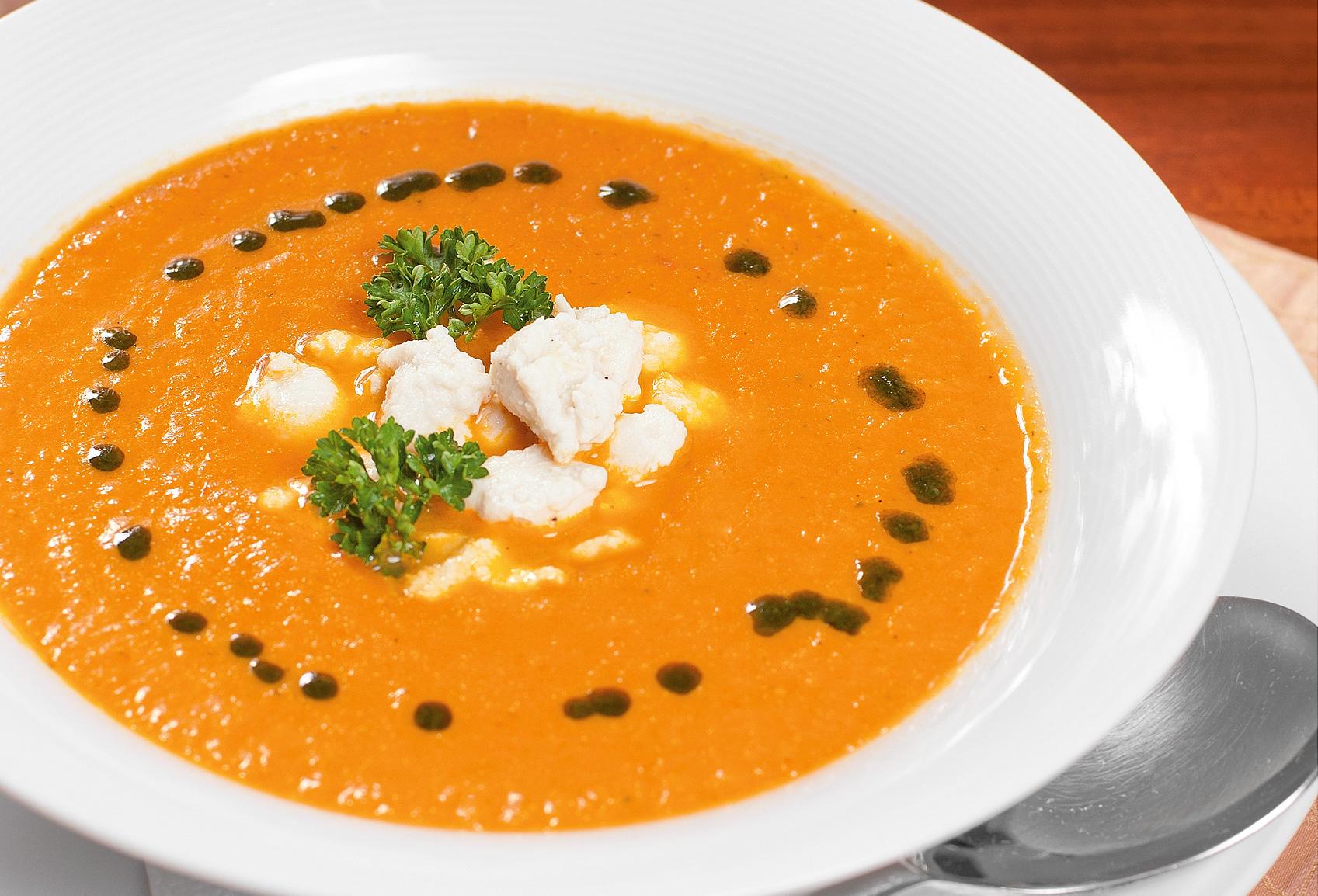 Тосканский крем-суп
