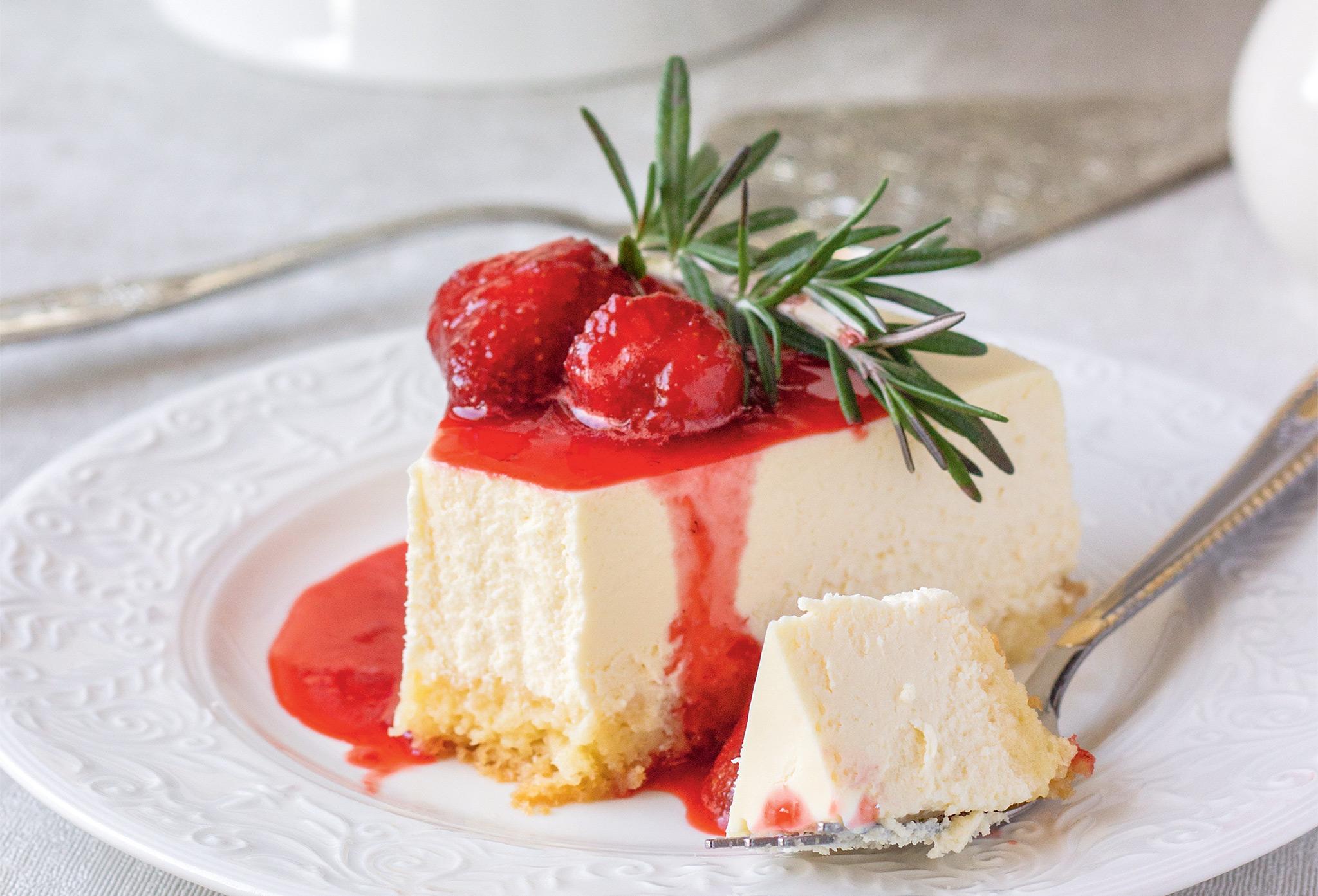 Смоландский сырный пирог осткака с миндалем