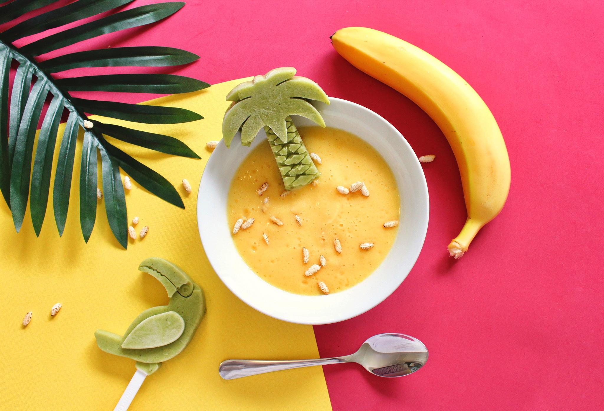 Смузи-боул с манго и авокадо