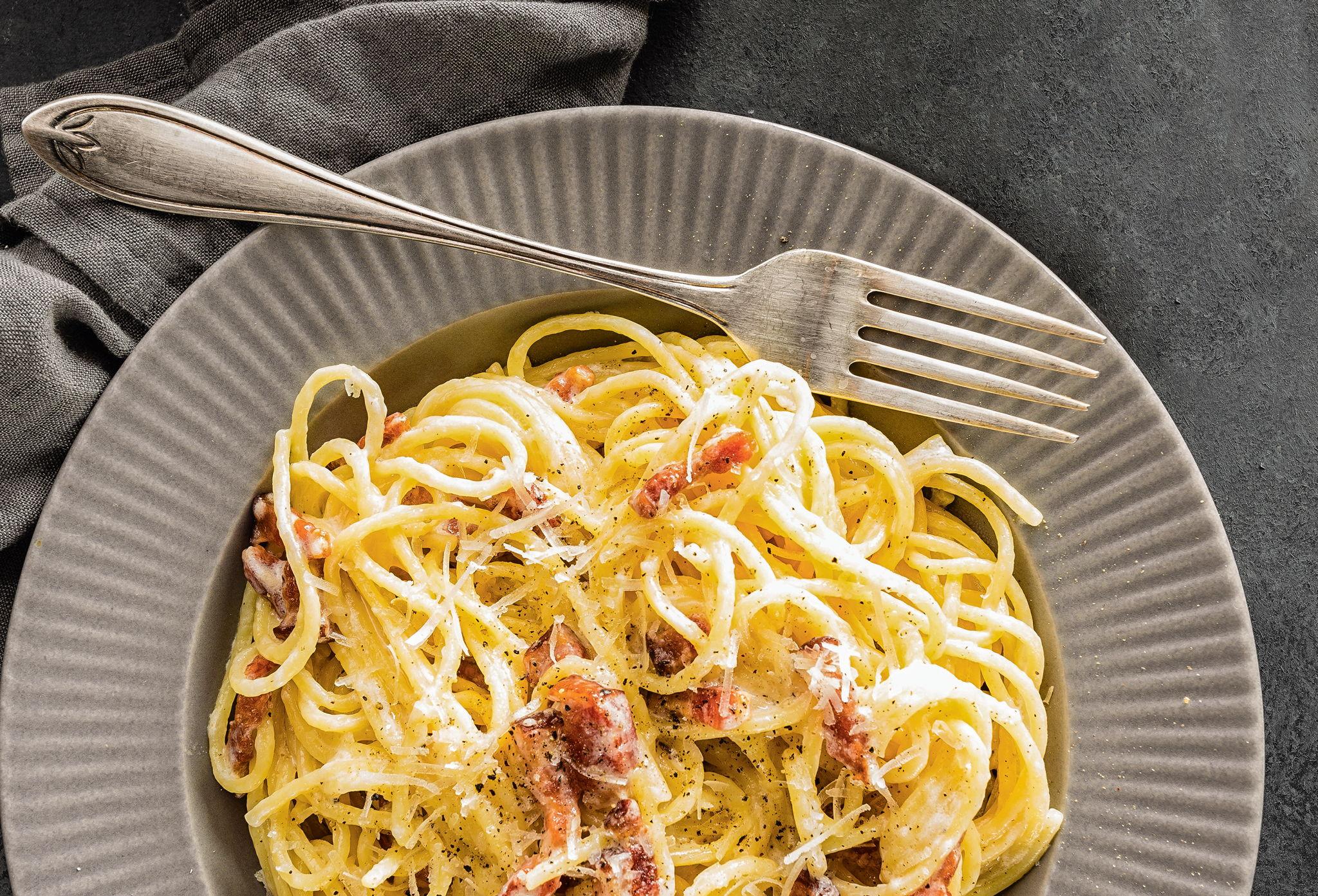 Спагетти с перцем от малышки Мю