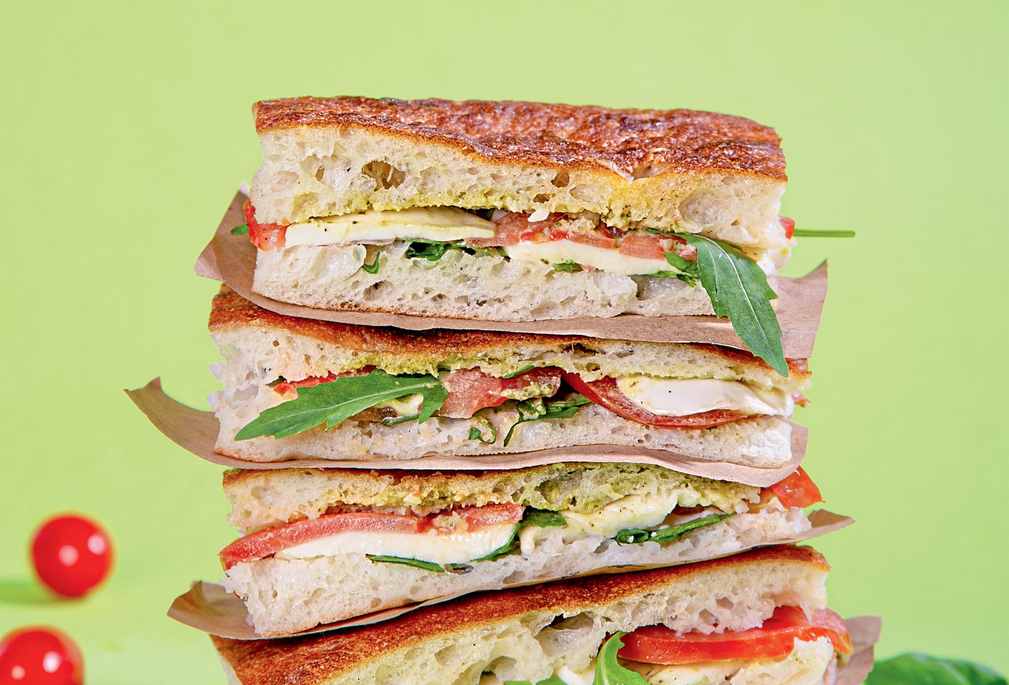 Сэндвич в лаваше