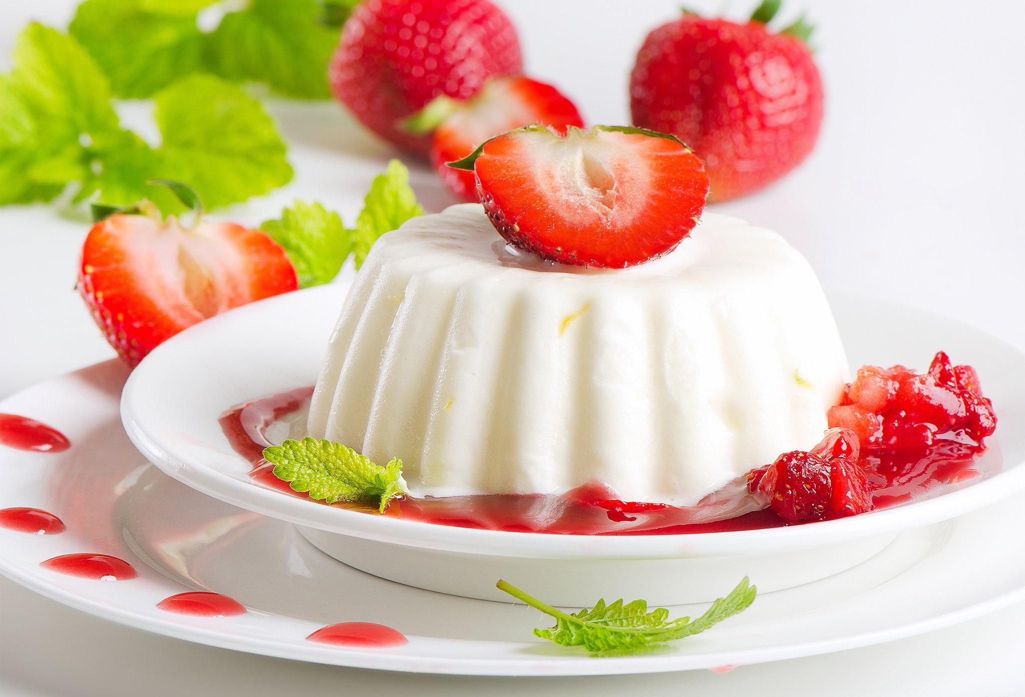 Желейный сметанный десерт рецепт с фото