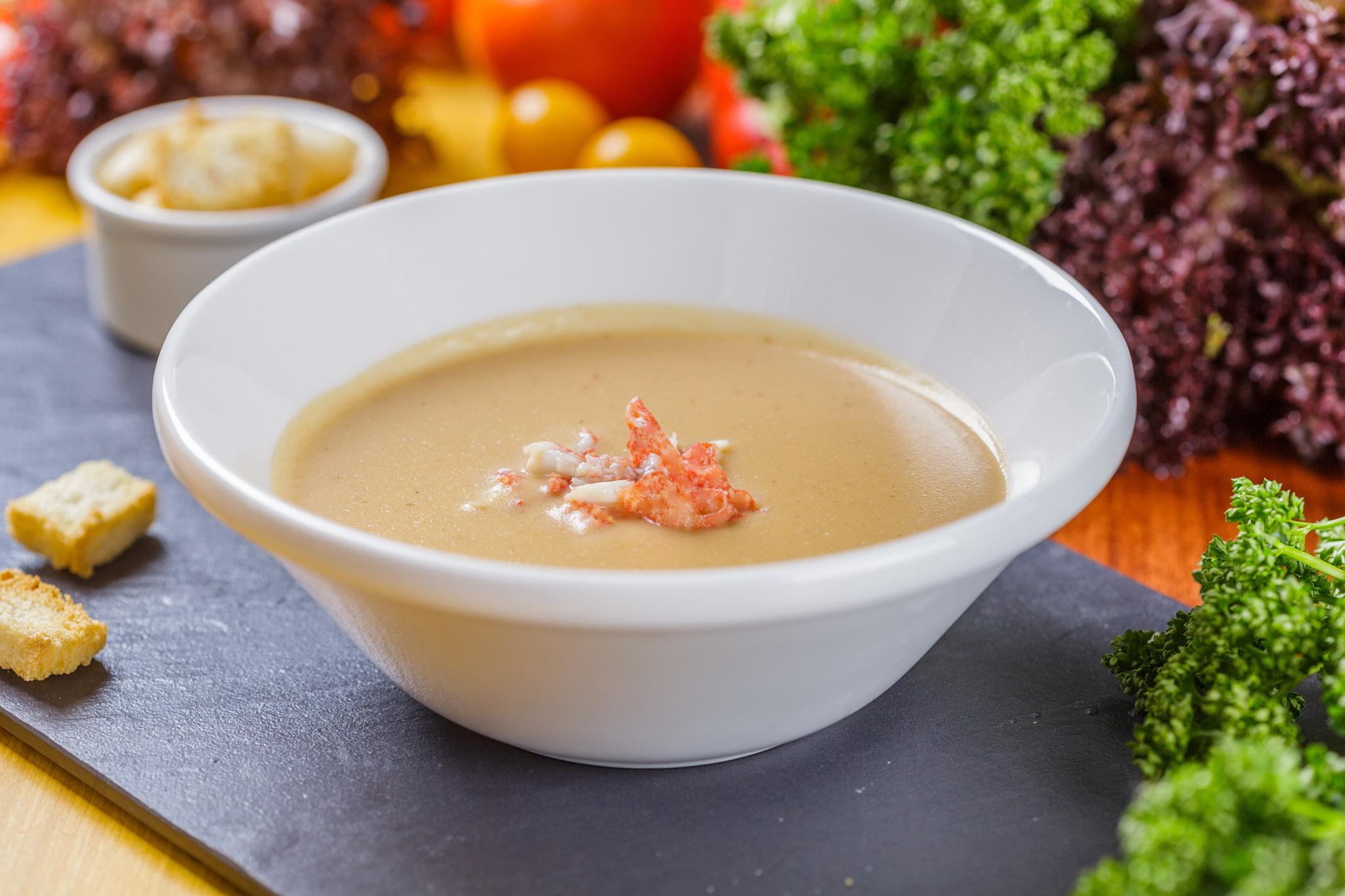 Крем-суп из раков «Биск»