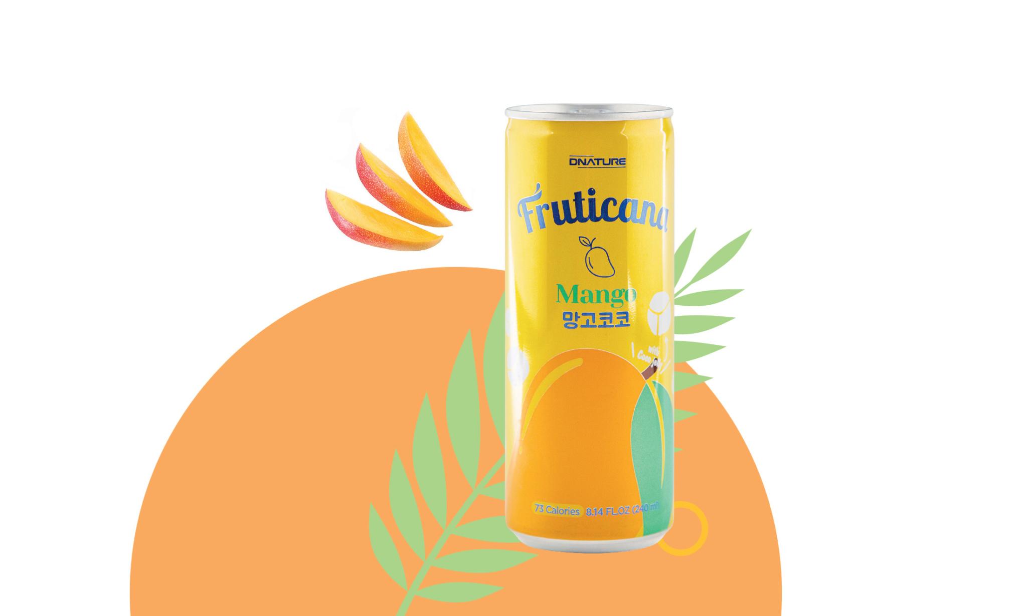 Манговый напиток «Фрутикана»