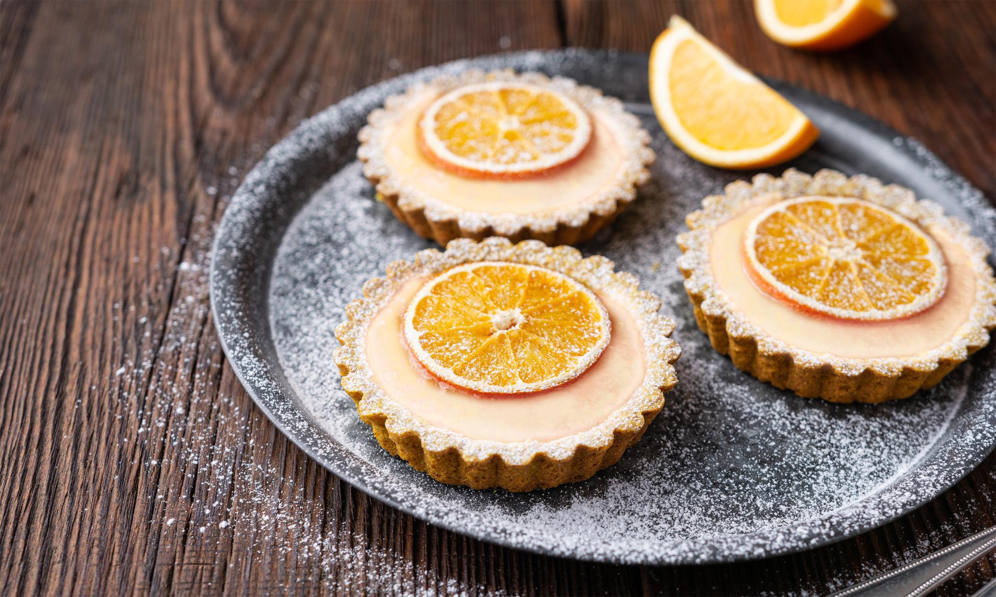 Апельсиновые корзиночки