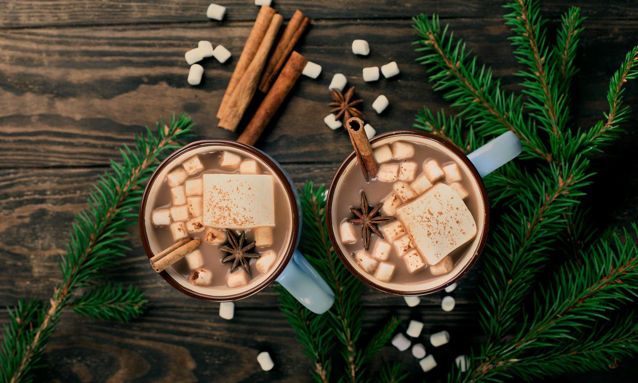 Домашнее маршмеллоу с какао