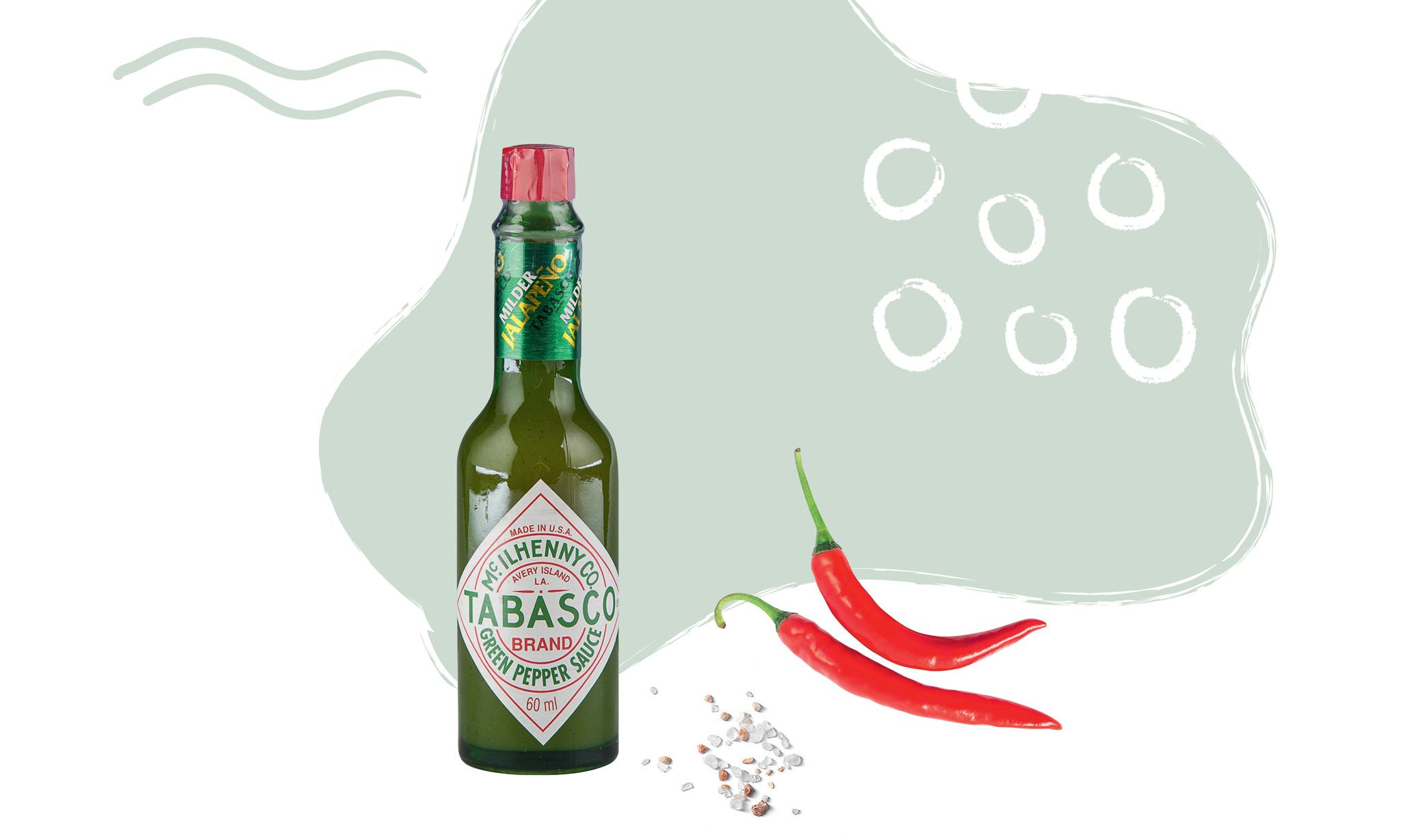 Соус «Табаско» с зеленым перцем