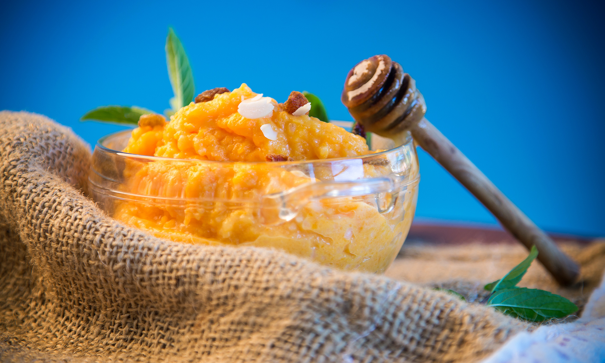 Варенье из тыквы с мятой и апельсинами