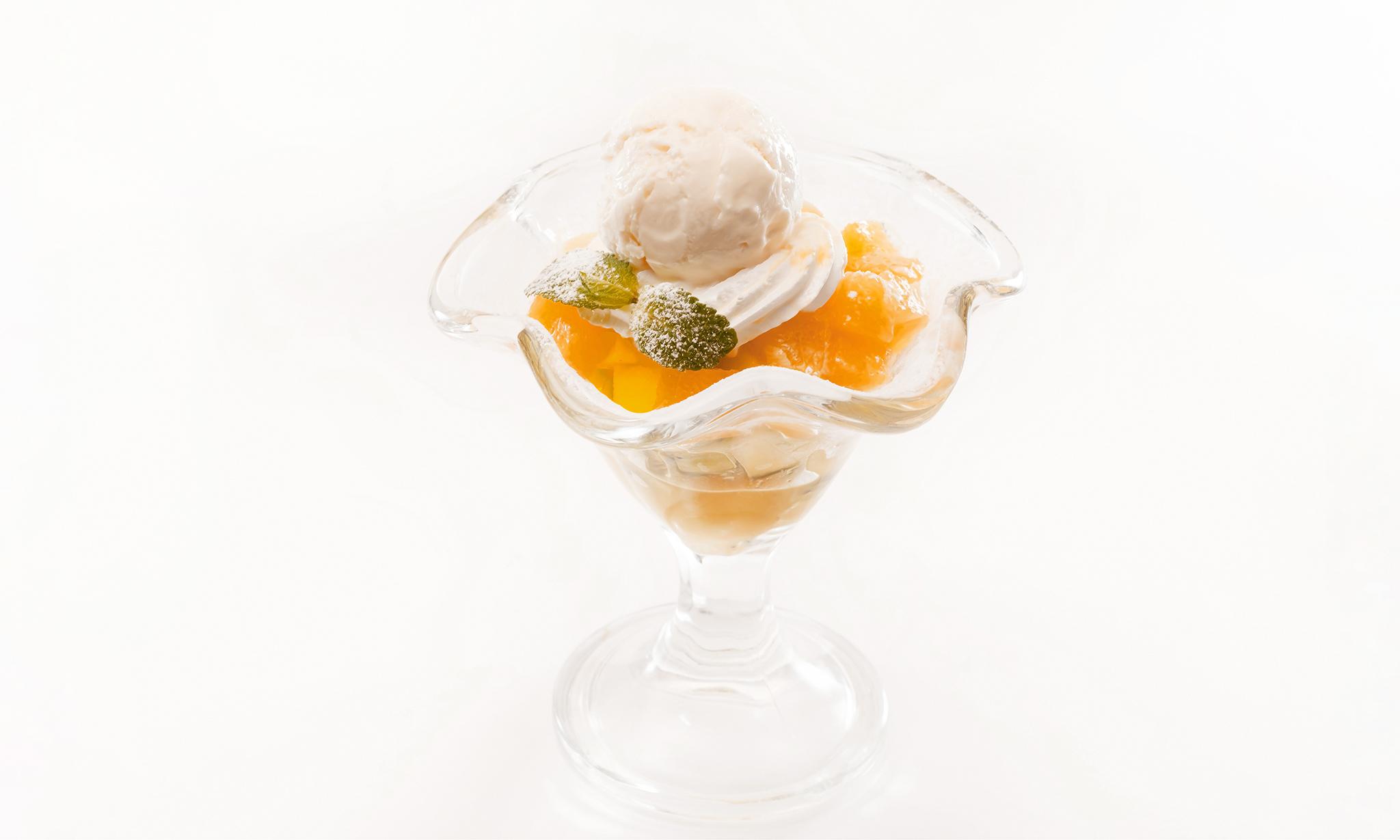 Мороженое с тыквенными чатни