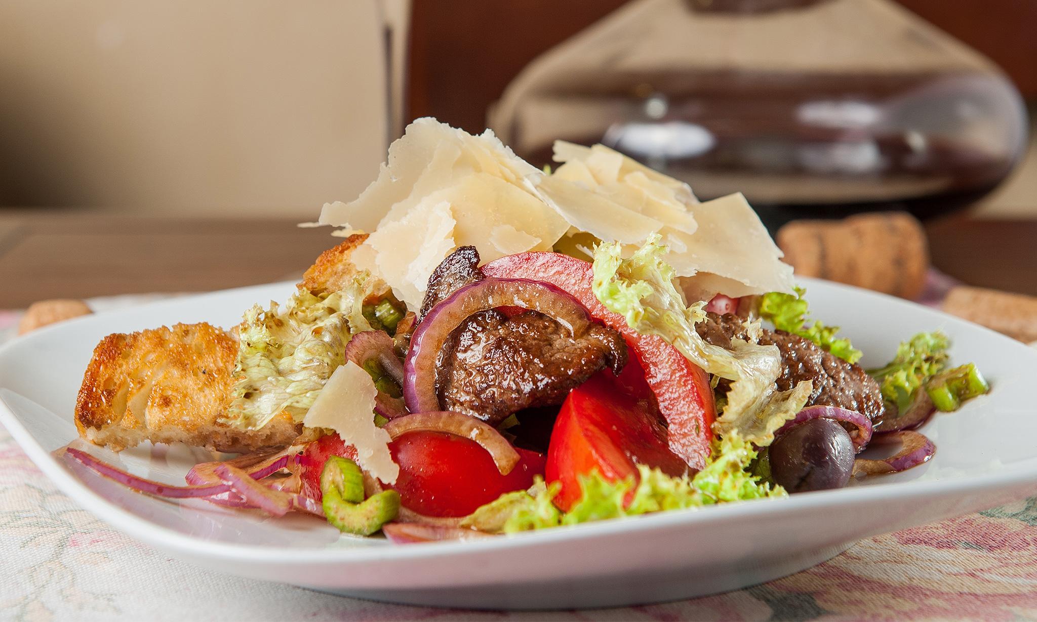 Итальянский салат страчетти‑ди‑манзо
