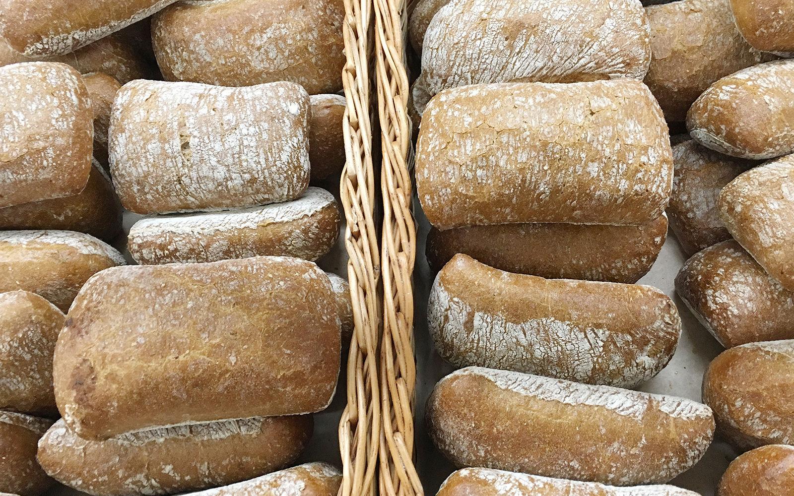 хлеб чиабатта