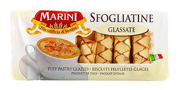 Печенье Марини глассате сфольяттине