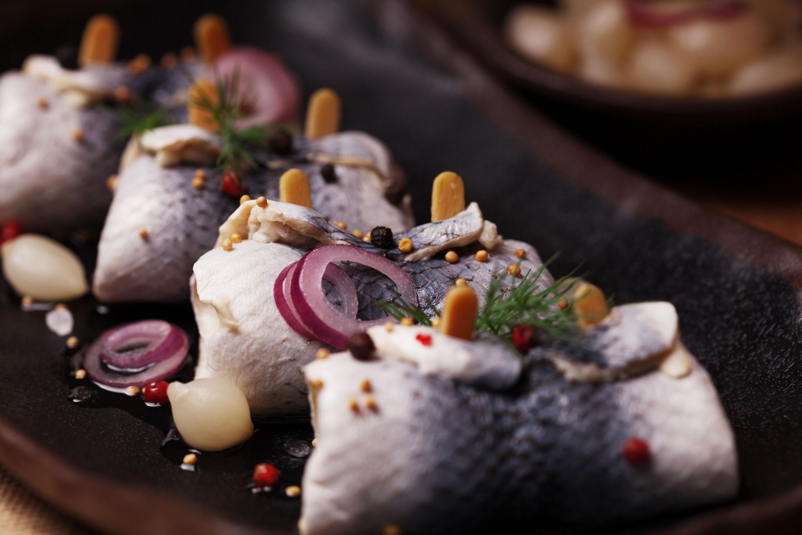 маринованная рыба