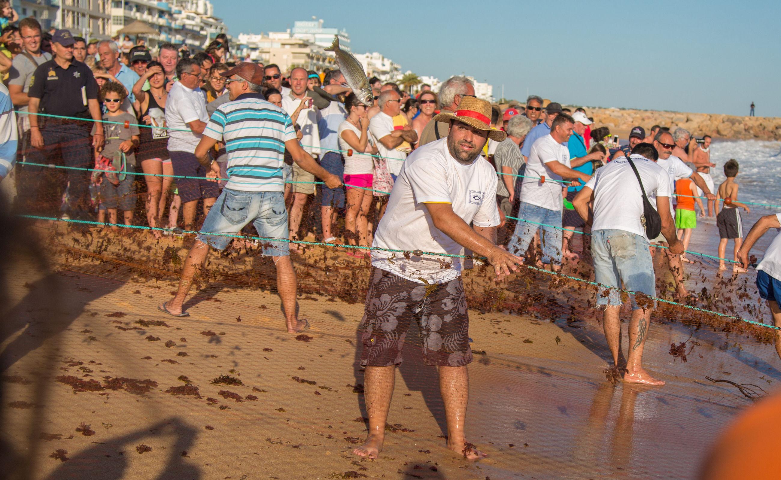 португальский рыбак Назаре