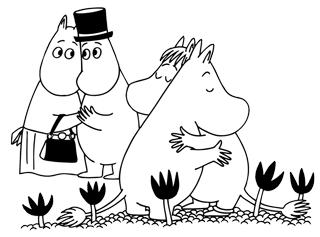 Moomin hug pp