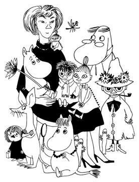 Tove Jansson Moomins