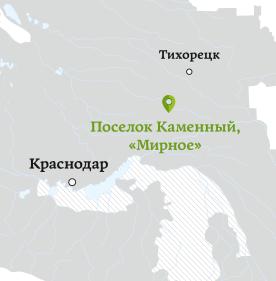 mirnoe map