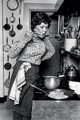 Julia Child portrait by c Lynn Gilbert 1978