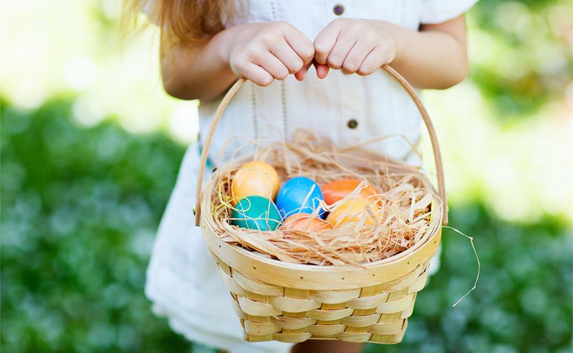 eggs colored