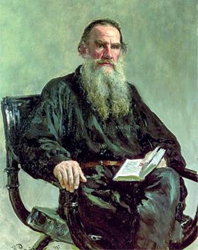Ilya Efimovich Repin Portrait of Leo Tolstoy