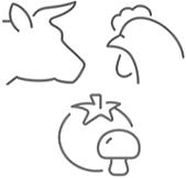 cow cock tom mush