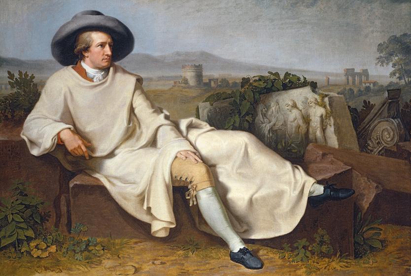 Johann Heinrich Wilhelm Tischbein   Goethe in the Roman Campagna