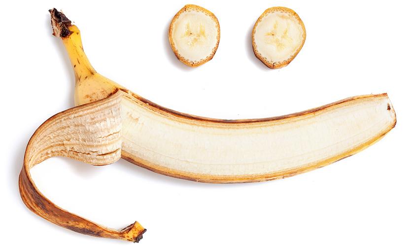 smile banana