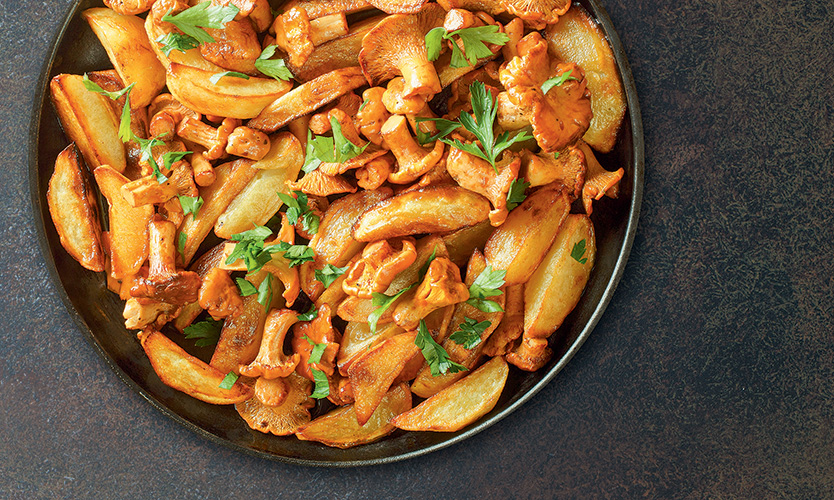 Kartofel s lisichkami