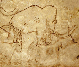 Grotte de Rouff mammut