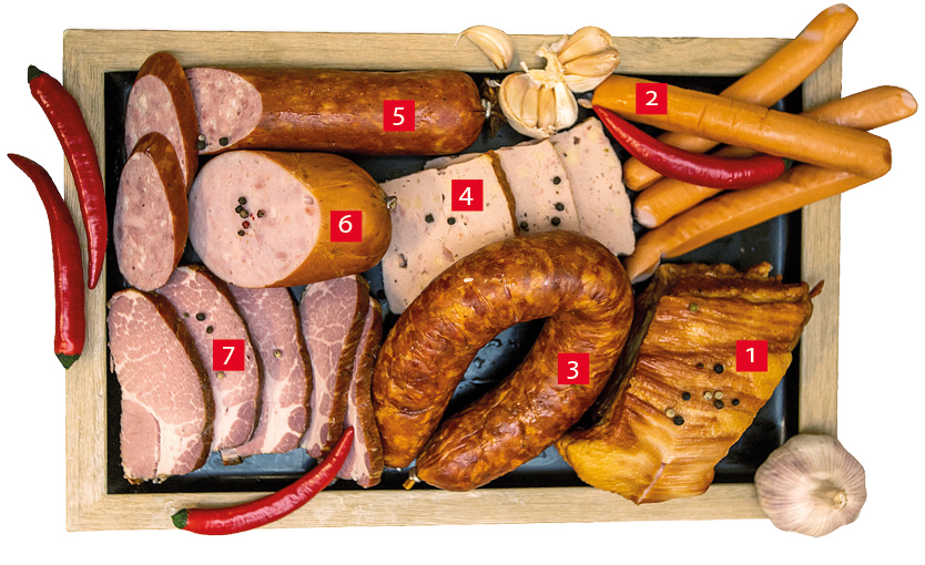 sausages info