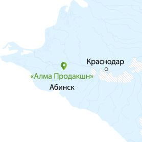 map alma