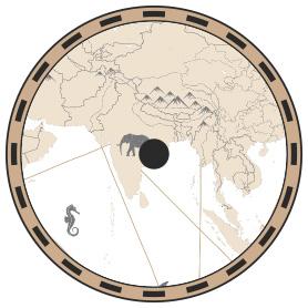 map kalkutta